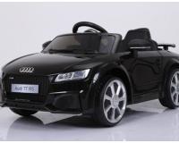 Audi TT Quatro RS típusú elektromos kisautó-fekete